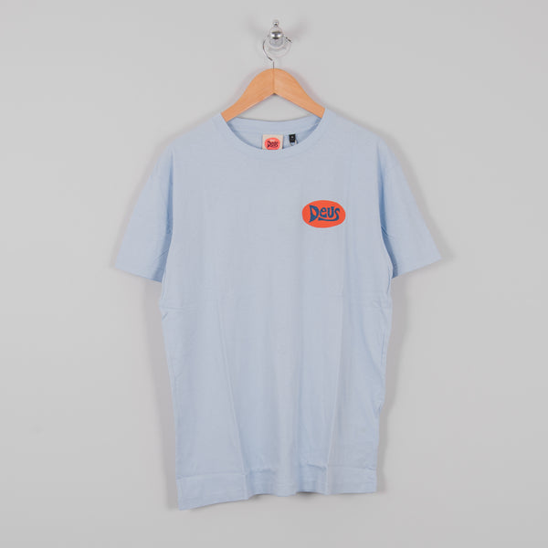 Deus ex Machina Bay Goofy Tee - Sky Blue 1