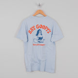 Deus ex Machina Bay Goofy Tee - Sky Blue 2