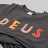 Deus ex Machina Circus Tee - Washed Black 2
