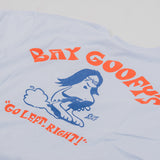 Deus ex Machina Bay Goofy Tee - Sky Blue 3