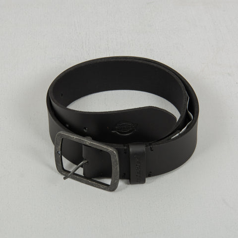 Dickies Eagle Lake Leather Belt - Black 1
