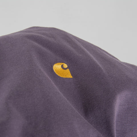 Carhartt WIP Chase S/S Tee - Provence / Gold 2
