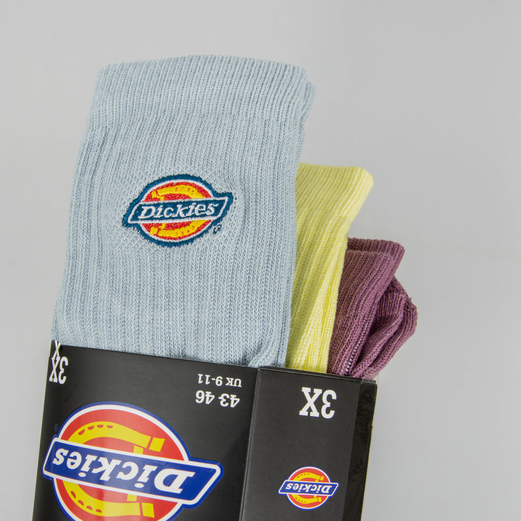 Dickies Valley Grove Socks 3 Pack - Mellow Green 1