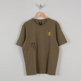 Brixton Wheeler 3/4 Sleeve Tee Shirt