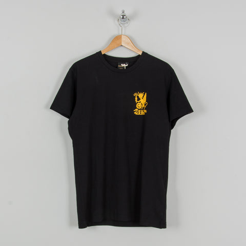 Deus ex Machina Devil Camperdown Tee - Black 1