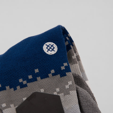 Stance Lifestyle Digi Stripe Sock - Blue 2