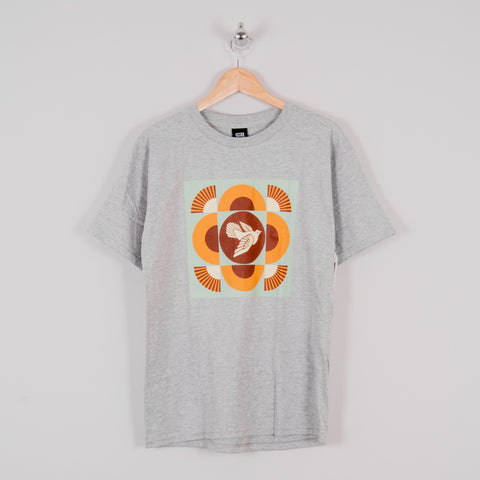 Obey Dove Tee - Heather Grey 1