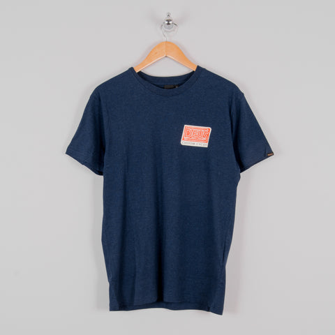 Deus Ex Machina Dynamic Tee - Navy Marle 1