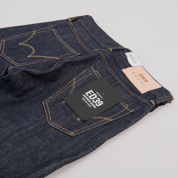 Edwin ED 39 Jeans - Red Listed Selvage 4