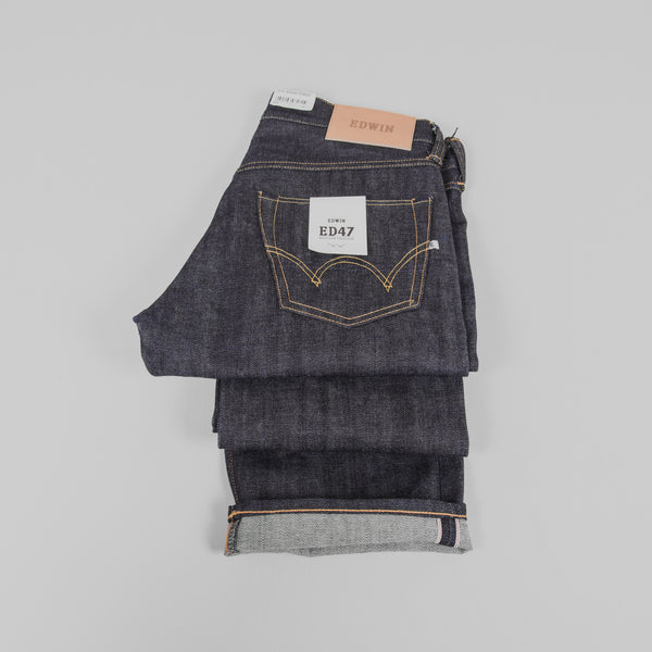 Edwin ED 47 Jeans - Red Listed Selvage Detail