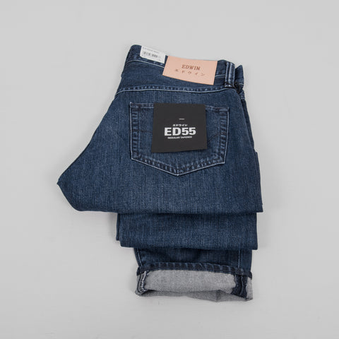 Edwin ED-55 Kingston Jean - Blue Mid Coal Self