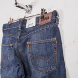 Edwin ED 55 Mid Used Wash Jean Pocket Detail