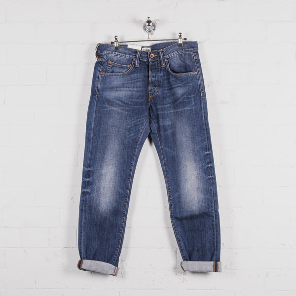 Edwin ED 55 Mid Used Wash Jean Front
