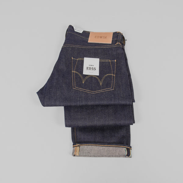 Edwin ED 55 Jeans - 63 Rainbow Selvage Detail