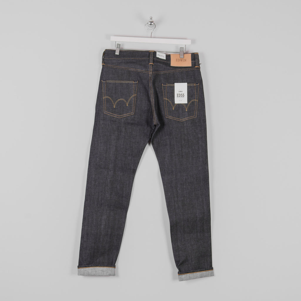 889f030a Buy The Edwin ED 55 Red Listed Selvage Jeans @UnionClothing | Union ...
