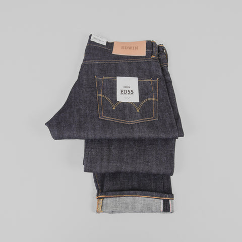 Edwin ED 55 Jeans - Red Listed Selvage Detail