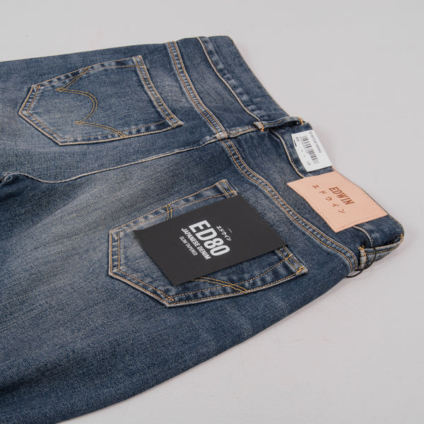 Edwin ED 80 Yoshiko Left Hand Denim - Nyoko Wash 4