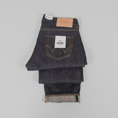 Edwin ED 80 Jeans - 63 Rainbow Selvage Detail