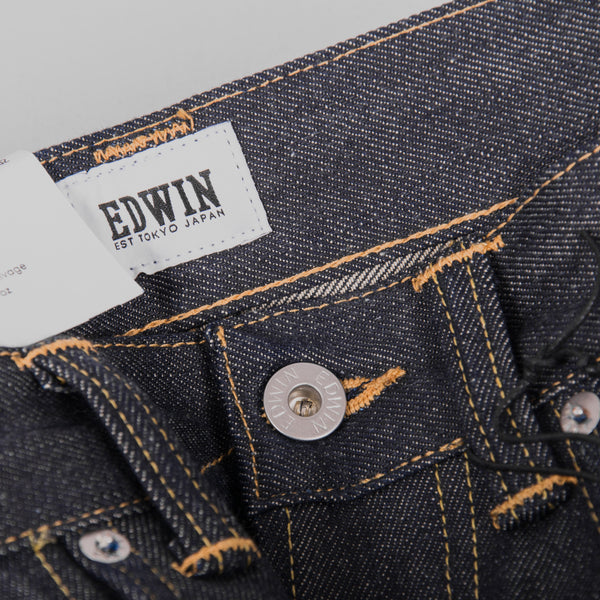 Edwin ED 80 Jeans - 63 Rainbow Selvage Button