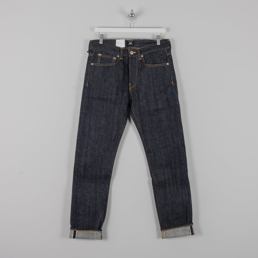 Edwin ED-80 Red Selvage Jeans - Dry 1