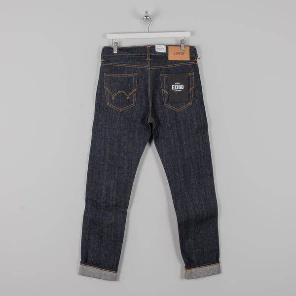 Edwin ED-80 Red Selvage Jeans - Dry 3