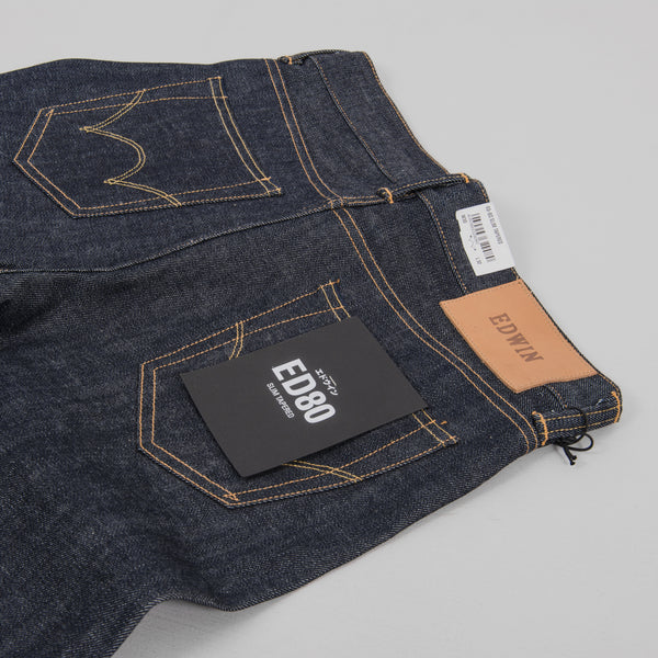 Edwin ED-80 Red Selvage Jeans - Dry 4