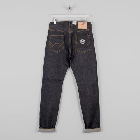 Edwin ED 80 Yoshiko Left Hand Denim Blue - Unwashed 1
