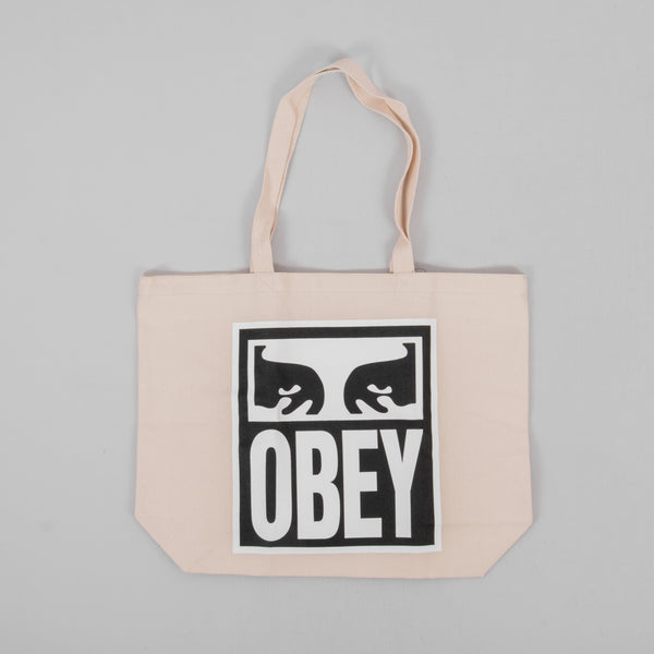 Obey Eyes Icon 2 Tote Bag - Natural 1