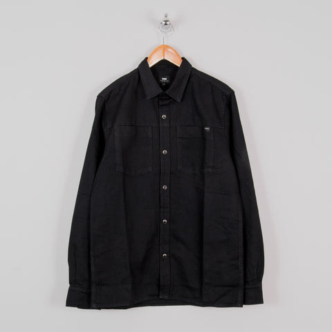 Edwin Fannar Shirt - Black Rinsed 1