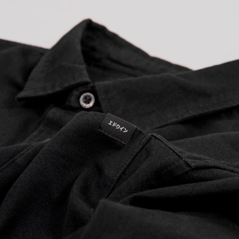 Edwin Fannar Shirt - Black Rinsed 2