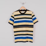 Carhartt WIP Flint Stripe Tee - Pale Yellow 1