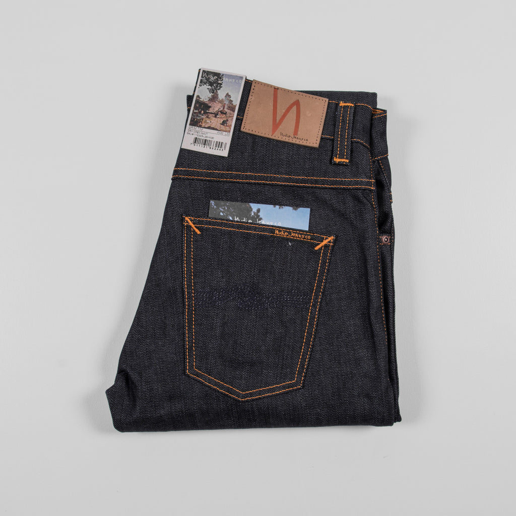 Nudie Grim Tim Dry Jean - Open Navy