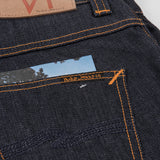 Nudie Grim Tim Dry Jean - Open Navy Pocket