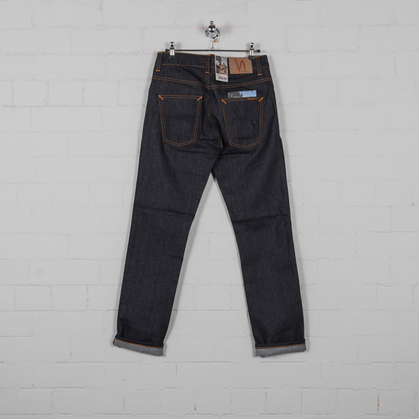 Nudie Grim Tim Dry Jean - Open Navy Back