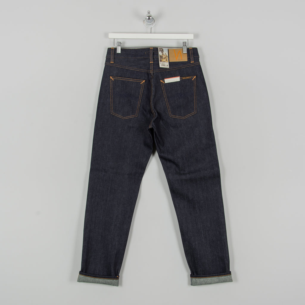 Nudie Gritty Jackson Jeans - Dry Classic Navy 1