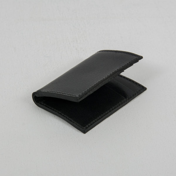 Nudie Hagdal Leather Wallet - Black 1