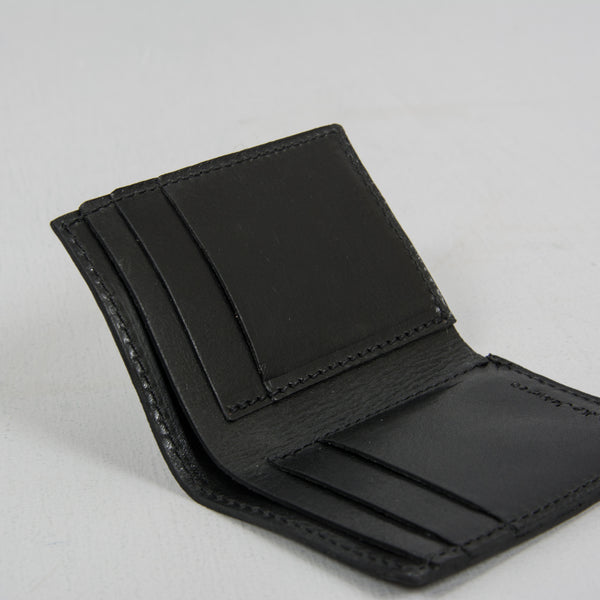 Nudie Hagdal Leather Wallet - Black 2