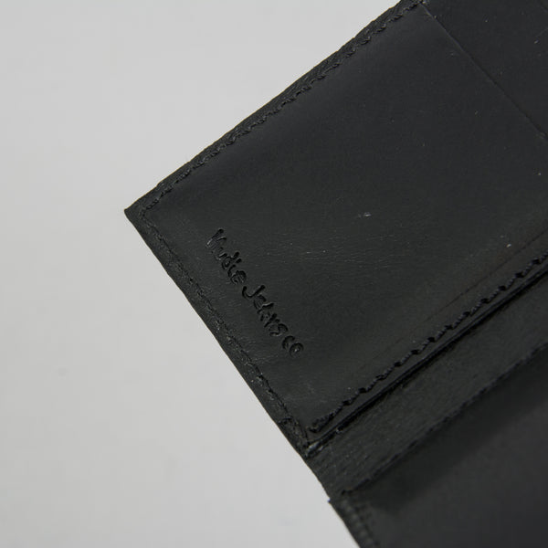 Nudie Hagdal Leather Wallet - Black 4