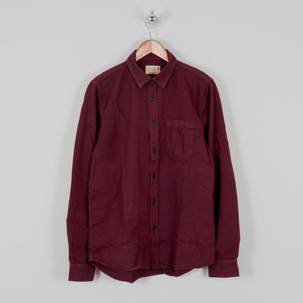 Nudie Henry Pigment Dyed Shirt - Fig 1