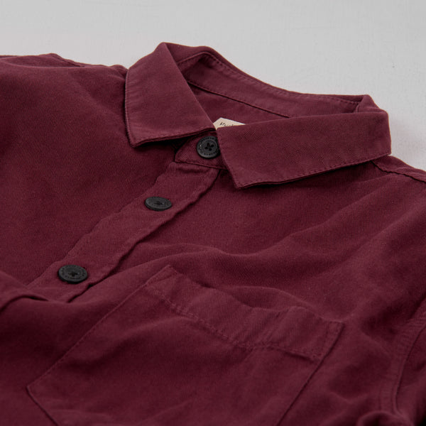 Nudie Henry Pigment Dyed Shirt - Fig 2