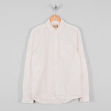 Nudie Henry Pigment Dyed Shirt - Powder 1