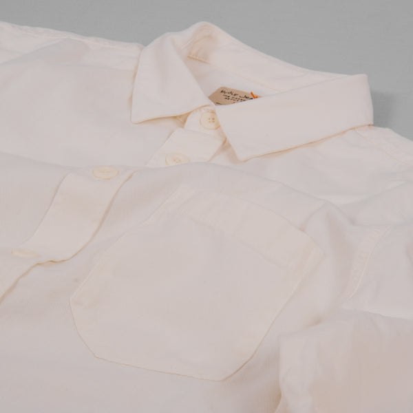 Nudie Henry Pigment Dyed Shirt - Powder 2