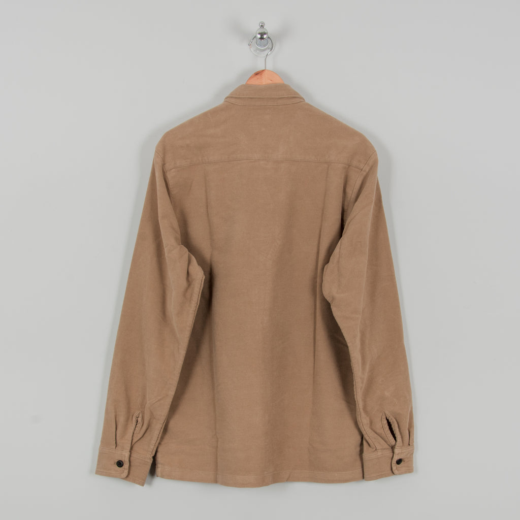 Carhartt WIP Holston Shirt L/S - Leather Rinsed 3