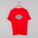 Dickies Horseshoe T-Shirt - Fiery Red 1