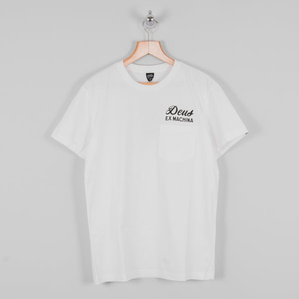 Deus ex Machina S/S Ibiza Tee - White 1