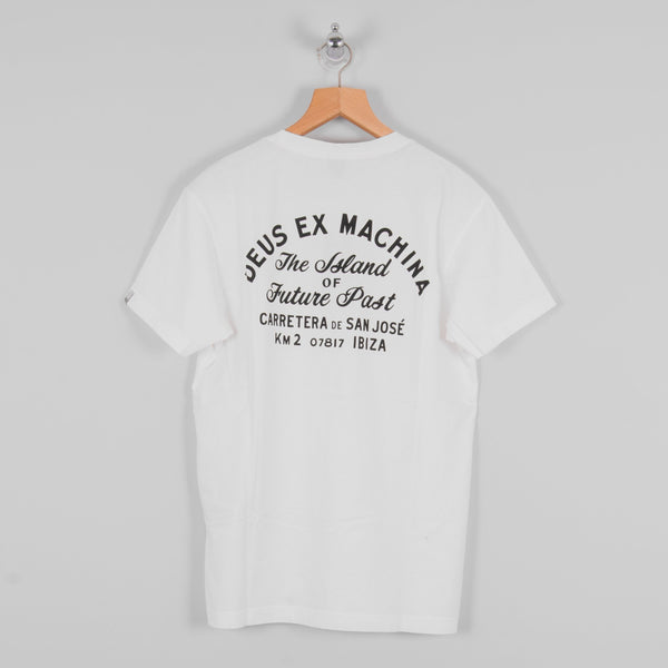 Deus ex Machina S/S Ibiza Tee - White 3