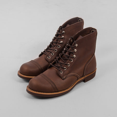 Red Wing Iron Ranger Boot 8111 - Amber 1