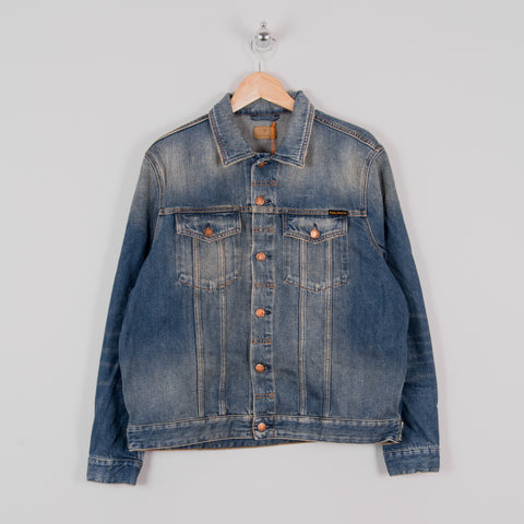 Nudie Jerry Denim Jacket - Dark Worn 1