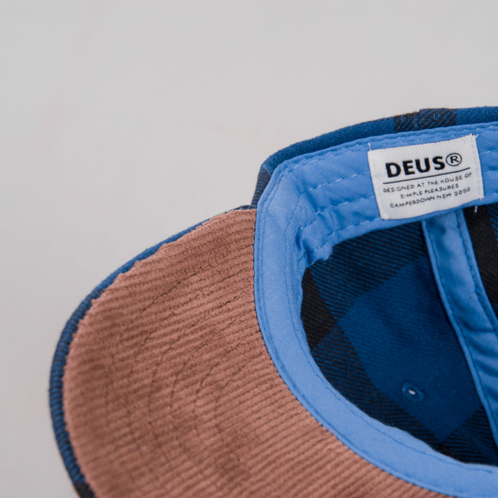Deus Ex Machina Kevin Cap - Denim Blue 3