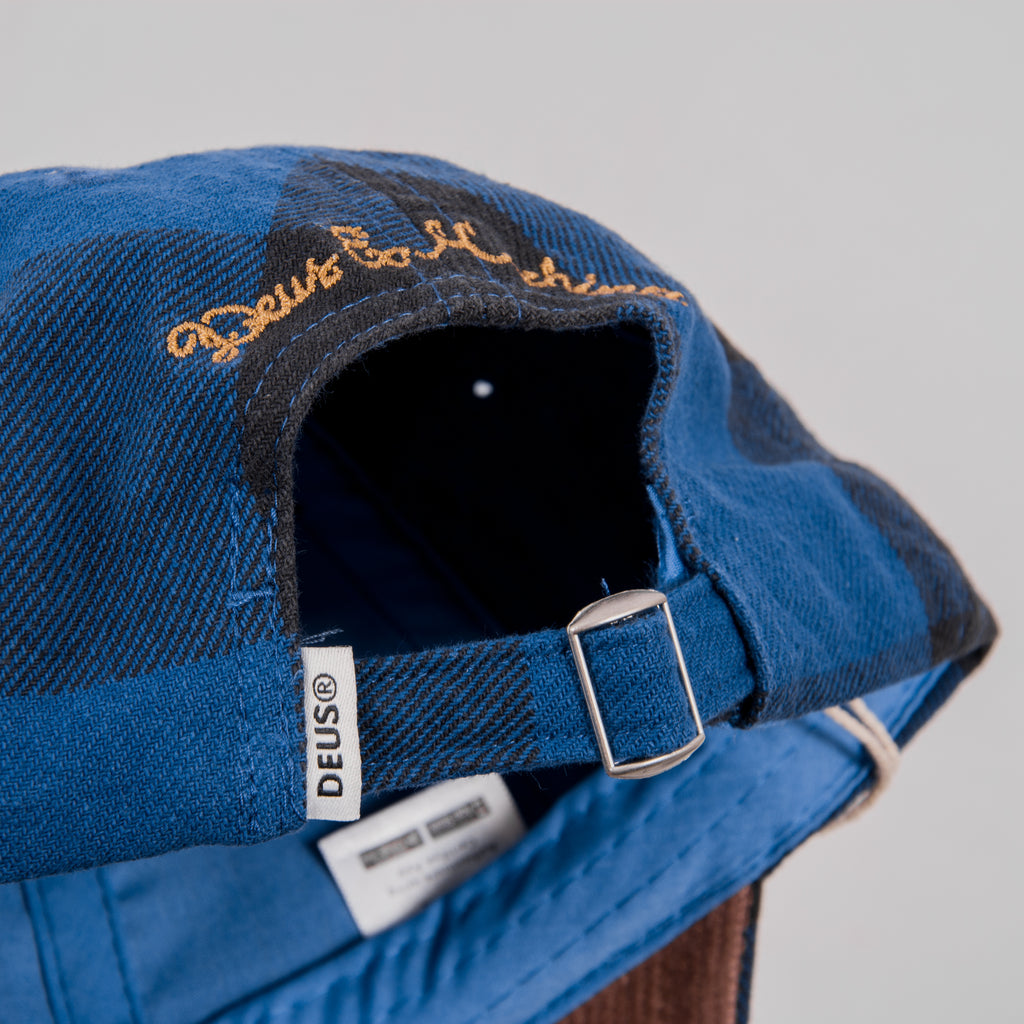 Deus Ex Machina Kevin Cap - Denim Blue 4
